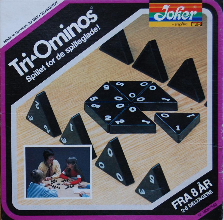 trekant spil