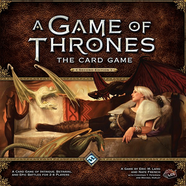 A Game of Thrones the card game 2.edition