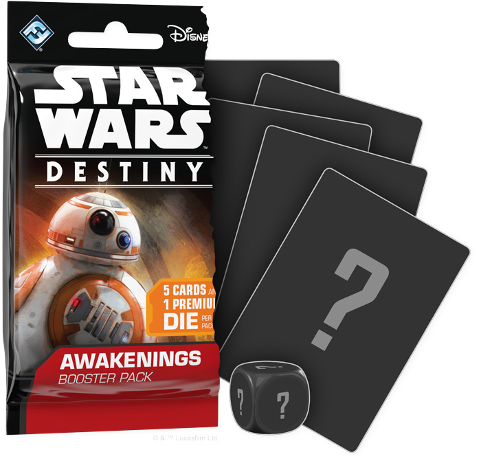En boosterpack til Star Wars Destiny