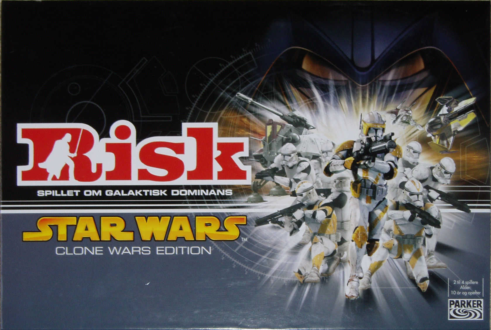 Risk: Star Wars: Clone Wars Edition