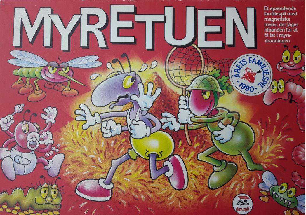 Rask Myretuen - Brætspil - papskubber.dk AC-86